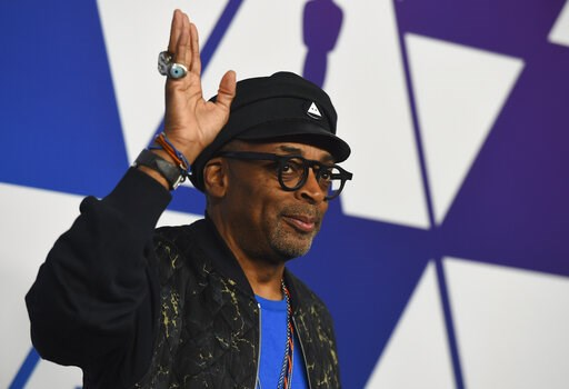 (Photo by Jordan Strauss/Invision/AP). Spike Lee arrives at the 91st Academy Awards Nominees Luncheon on Monday, Feb. 4, 2019, at The Beverly Hilton Hotel in Beverly Hills, Calif.