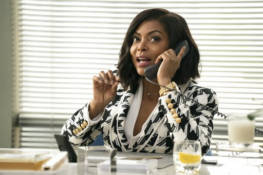 "(Jess Miglio/Paramount Pictures via AP). This image released by Paramount Pictures shows Taraji P. Henson in a scene from ""What Men Want."""