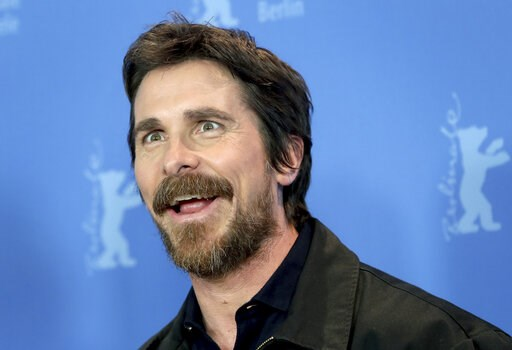 (AP Photo/Michael Sohn). Actor Christian Bale poses for the photographers during a photo call for the film 'Vice' at the 2019 Berlinale Film Festival in Berlin, Germany, Monday, Feb. 11, 2019.