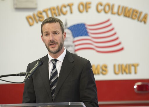 (AP Photo/Kevin Wolf). Adam Boehler, director, CMS Innovation Center, speaks during a news conference on Thursday, Feb. 14, 2019 in Washington.