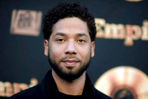"""(Richard Shotwell/Invision/AP, File). FILE - In this May 20, 2016 file photo, actor and singer Jussie Smollett attends the """"Empire"""" FYC Event in Los Angeles. Chicago police said Sunday, Feb. 17, 2019, they're still seeking a follow-up interview with Sm..."""