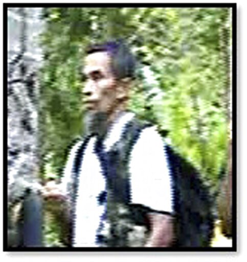 (Philippine National Police via AP). This photo provided by Philippine National Police (PNP), shows militant Abu Sayyaf Group leader Hatib Hajan Sawadjaan in the PNP confidential report. Philippine and U.S. official say a little known militant has been...