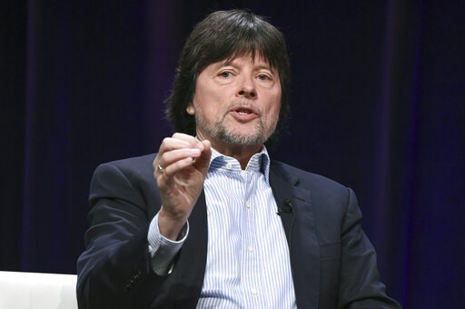 """(Photo by Richard Shotwell/Invision/AP, File). FILE - In this July 30, 2017 file photo, Ken Burns participates in the """"The Vietnam War"""" panel during the PBS portion of the 2017 Summer TCA's in Beverly Hills, Calif. The Library of Congress will begin pr..."""
