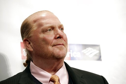 (Photo by Brent N. Clarke/Invision/AP, File). FILE - In this Wednesday, April 19, 2017 file photo, chef Mario Batali attends an awards event in New York. The 20-year business partnership between celebrity chef Mario Batali and the Bastianich family of ...