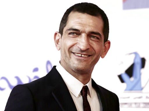 (AP Photo/Nariman El-Mofty, File). FILE - In this Sept. 22, 2017 file photo, Egyptian actor Amr Waked arrives on the red carpet during the first International El Gouna Film Festival, in el-Gouna, Egypt. Waked, an Egyptian actor known for his criticism ...