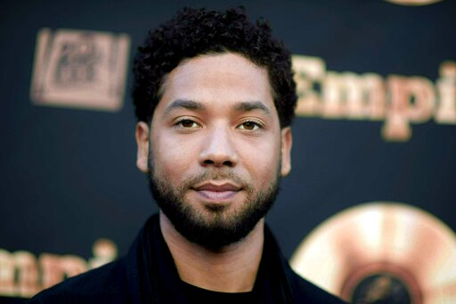 """(Richard Shotwell/Invision/AP, File). FILE - In this May 20, 2016 file photo, actor and singer Jussie Smollett attends the """"Empire"""" FYC Event in Los Angeles. Chicago police say they are conducting an internal investigation to determine the source of in..."""