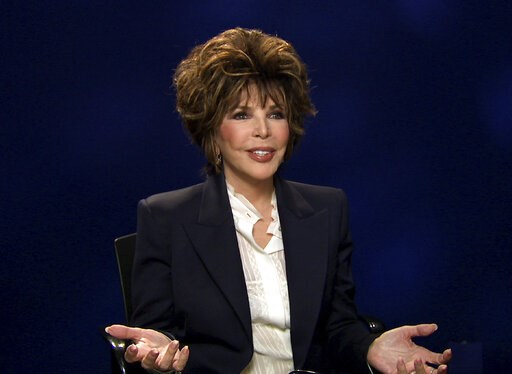 """(AP Photo). FILE - In this Oct. 19, 2016 file image taken from video, songwriter Carole Bayer Sager appears during an interview in New York about her new memoir, """"They're Playing Our Song.""""  Bayer Sager will receive the Johnny Mercer Award by the Songw..."""