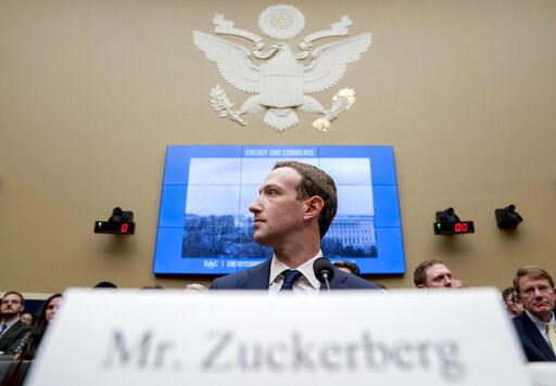 "(AP Photo/Andrew Harnik, File). FILE - In this April 11, 2018, file photo Facebook CEO Mark Zuckerberg arrives to testify before a House Energy and Commerce hearing on Capitol Hill in Washington. Zuckerberg's new ""privacy-focused vision"" for Facebook l..."