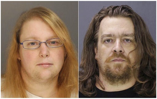 (Bucks County District Attorney via AP, File). FILE - This combination of file photos provided on Sunday, Jan. 8, 2017, by the Bucks County District Attorney shows Sara Packer, left, and Jacob Sullivan. Sullivan pleaded guilty Tuesday, Feb. 19, 2019, t...