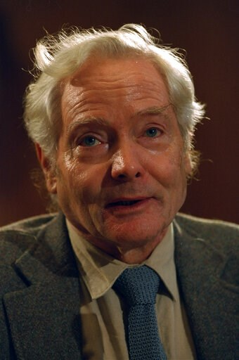 (AP Photo, File). FILE - In this Sept. 29, 1994 file photo, poet W.S. Merwin is recognized by the Academy of American Poets after winning the Tanning Prize in Washington. Merwin, a prolific and versatile master of modern poetry who evolved through a wi...