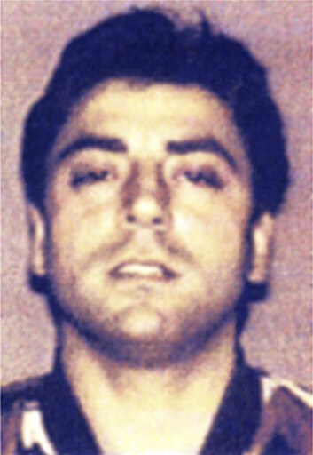 "(Italian Police/ANSA via AP). This photo made available by the Italian Police in 2008 shows Francesco ""Franky Boy"" Cali. ""Franky Boy"", the reputed boss of New York's Gambino crime family was shot to death Wednesday night in front of his home in Staten ..."