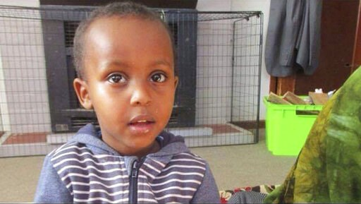 (Abdi Ibrahim via AP). In this undated photo supplied by Abdi Ibrahim, shows a photo of his three-year-old brother, Mucaad, who is the youngest known victim of the mass shooting in Christchurch, New Zealand on Friday, March 15, 2019. His older brother,...
