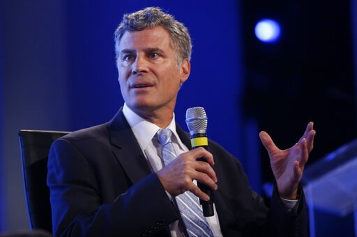 (AP Photo, File). FILE- In this May 14, 2014, file photo Alan Krueger, professor of economics and public affairs at Princeton University, speaks at the 2014 Fiscal Summit organized by the Peter G. Peterson Foundation in Washington. Princeton University...