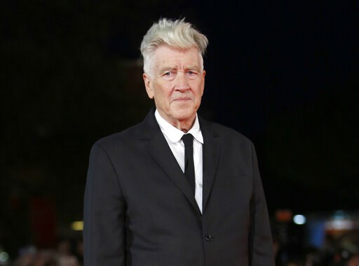 """(AP Photo/Domenico Stinellis, File). FILE - This Nov. 4, 2017 file photo shows director David Lynch during the Rome Film Festival in Rome. The """"Blue Velvet"""" director has joined the MasterClass faculty with an online class about creativity and filmmakin..."""
