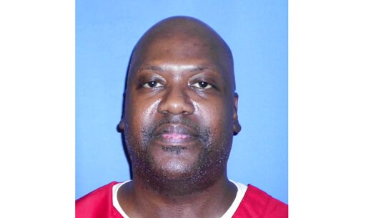 (Mississippi Department of Corrections via AP). This Aug. 3, 2017 photo provided by Mississippi Department of Corrections shows Curtis Flowers, who's murder case has gone to trial six times.  Supreme Court justices are again considering how to keep pro...