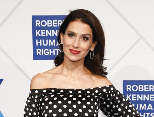 (Photo by Andy Kropa/Invision/AP, File). FILE - This Dec. 12, 2018 file photo shows Hilaria Baldwin at the 2018 Robert F. Kennedy Human Rights Ripple of Hope Awards in New York. Baldwin has confirmed on Instagram that she had a miscarriage. In an essay...