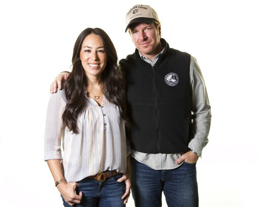 (Photo by Brian Ach/Invision/AP, File). FILE - In this March 29, 2016, file photo, Joanna and Chip Gaines pose for a portrait in New York. The lifestyle team of Chip and Joanna Gaines will launch their own Discovery-affiliated television network in the...