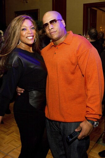 (AP Photo/Charles Sykes, File). FILE - This March 25, 2011 file photo shows Wendy Williams and her husband Kevin Hunter at Aretha Franklin's 69th birthday party in New York. Williams has filed for divorce after nearly 22 years of marriage to her husban...