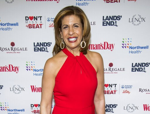 "(Photo by Charles Sykes/Invision/AP, File). FILE - In this Feb. 12, 2019 file photo, Hoda Kotb attends the 16th annual Woman's Day Red Dress Awards, in support of women's heart health, at Jazz at Lincoln Center in New York. The ""Today"" show co-anchor's..."
