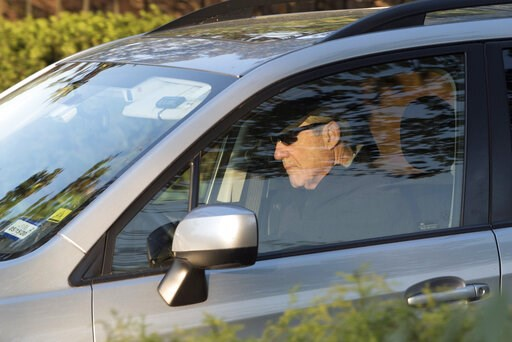 (AP Photo/Kevin Wolf). Special counsel Robert Mueller drives away from his Washington home on Wednesday, April 17, 2019. Outstanding questions about the special counsel's Russia investigation have not stopped President Donald Trump and his allies from ...