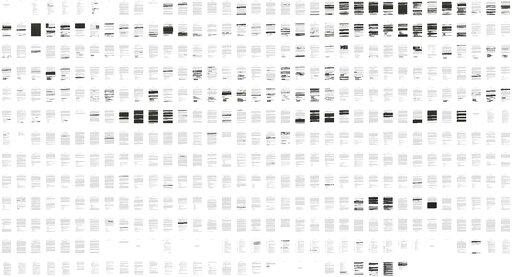 (Department of Justice via AP). This combination of images shows the entire redacted report by special counsel Robert Mueller's released Thursday, April 18, 2019, by special Attorney General William Barr.