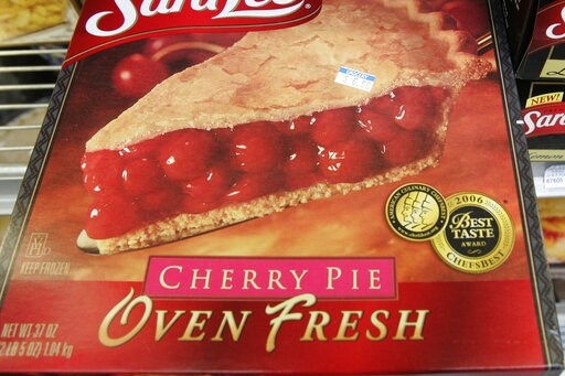 (AP Photo/Paul Sakuma). FILE - This Monday, Feb. 2, 2009 file photo shows a frozen cherry pie in a store's freezer in Palo Alto, Calif. In 2019, the Food and Drug Administration is preparing to propose getting rid of a federal standard for frozen cherr...