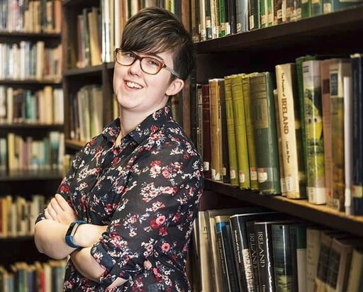(Family photo/PSNI via AP). In this undated family photo made available Friday April 19, 2019, issued by Northern Ireland Police, showing journalist Lyra McKee who was shot and killed when guns were fired during clashes with police Thursday night April...