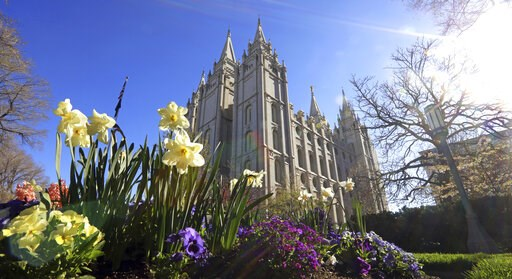 (AP Photo/Rick Bowmer). The Salt Lake Temple is shown Friday, April 19, 2019, in Salt Lake City. The iconic temple central to The Church of Jesus Christ of Latter-day Saints faith will close for four years to complete a major renovation, and officials ...