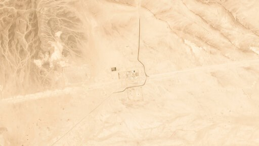 (Satellite image © 2019 Planet Labs Inc. via AP). This satellite image provided by Planet Labs Inc. shows Saudi Aramco's Pumping Station No. 8 near al-Duadmi, Saudi Arabia, Tuesday, May 14, 2019, after what the kingdom described as a drone attack on th...