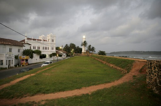 (AP Photo/Eranga Jayawardena). In this Friday, May 10, 2019, photo, the 17th century built Dutch fort, which was a popular tourist site, stands empty in Galle, Sri Lanka. Sri Lanka was the Lonely Planet guide's top travel destination for 2019, but sinc...