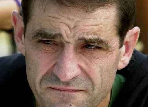 (AP Photo/Bob Edme, File). FILE - In this Sept.3, 2000 file photo, Jose Antonio Urruticoetxea Bengoetxea, known by the alias Josu Ternera, a leader of the Basque separatist group ETA, is pictured in Bayonne, southwestern France. Spain's Interior Minist...