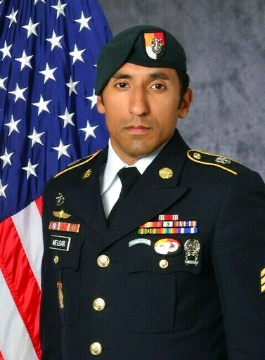 (U.S. Army via AP). This undated photo provided by the U.S. Army shows U.S. Army Staff Sgt. Logan Melgar Green Beret, who died from non-combat related injuries in Mali in June 2017. The attorney for Navy SEAL Adam Matthews, one of four U.S. servicemen ...