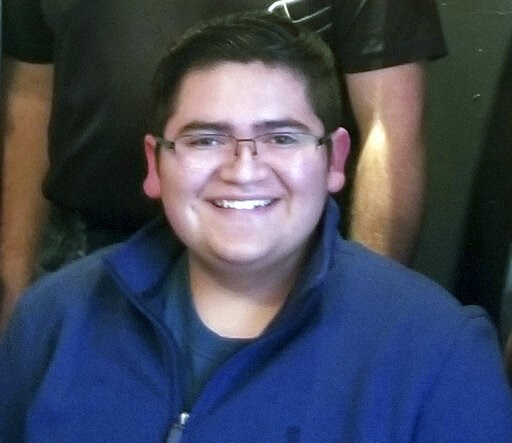 (Rachel Short via AP, File). FILE - This undated file photo provided by Rachel Short shows Kendrick Castillo, who was killed during a shooting at the STEM School Highlands Ranch on Tuesday, May 7, 2019, in Highlands Ranch, Colo. Seniors from the school...