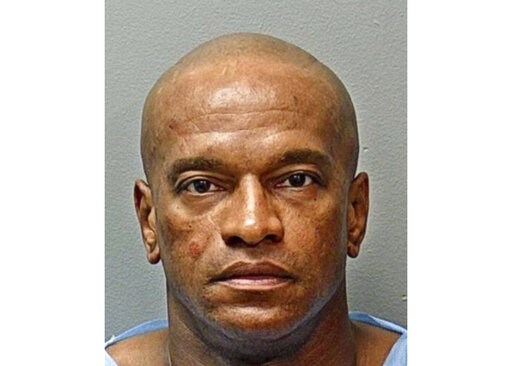 (The Fort Worth Police Department via AP). This booking photo from the Fort Worth Police Department shows Michael Webb under arrest on Sunday, May 19, 2019, in Texas. Webb has been charged in the abduction of an 8-year-old girl who was snatched from a ...