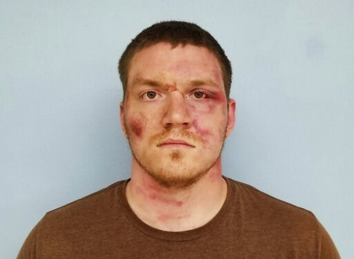 (Auburn Police Department via AP). This booking photo released by the Auburn Police Department on Monday, May 20, 2019, in Auburn, Ala., shows Grady Wayne Wilkes. Wilkes, who opened fire on police responding to a domestic disturbance report, killing on...