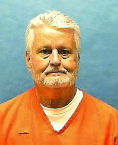 (Florida Department of Law Enforcement via AP). In this updated photo made available by the Florida Department of Law Enforcement shows Bobby Joe Long in custody. Long, is scheduled to be executed Thursday, May 23, 2019, for killing 10 women during eig...