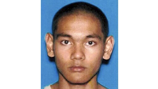(U.S. Department of Justice via AP, File). FILE - This undated California Department of Motor Vehicles photo provided by the U.S. Department of Justice shows Mark Domingo. A federal grand jury has indicted the U.S. Army veteran for allegedly plotting t...
