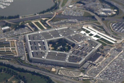 (AP Photo/Charles Dharapak, File). FILE - In this June 3, 2011, file photo, the Pentagon is seen from air from Air Force One. Nearly two dozen progressive groups are launching a new push to persuade Democratic presidential candidates to support dramati...