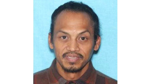 (Idaho State Police via AP). This undated booking photo provided by the Idaho State Police shows Jonathan Llana, 45. A search was underway Thursday, May 23, 2019 in southern Idaho for Llana, suspected of shooting and killing a motorist on a Utah highwa...