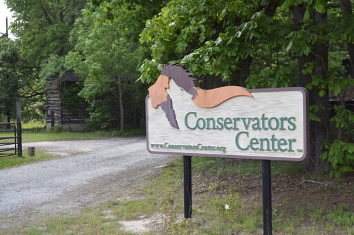 ( AP Photo/Amanda Morris). In this May 4, 2019 photo, the entrance to The Conservators Center in Burlington, N.C., is open for visitors. The park re-opened in February 2019 after an intern was mauled to death by a lion that escaped its inclosure in Dec...
