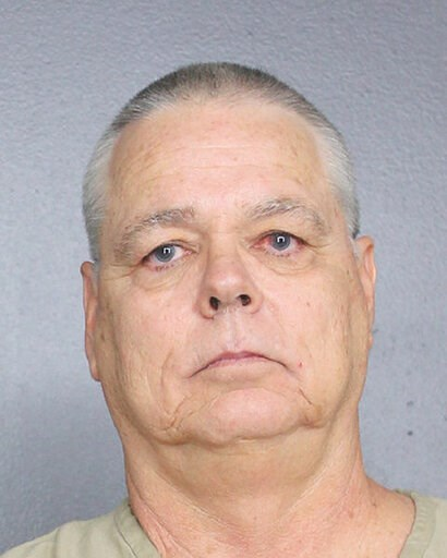 (Broward County Sheriff's Office via AP). This undated photo provided by the Broward County, Fla., Sheriff's Office shows Scot Peterson, a former Florida deputy who stood outside instead of confronting the gunman during last year's Parkland school mass...