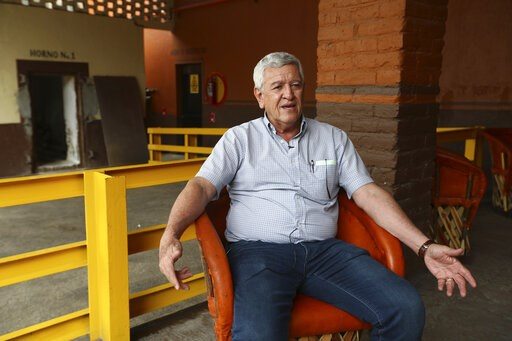 (AP Photo/Refugio Ruiz). In this Wednesday, June 5, 2019 photo, Salvador Rosales, director of the family-run business Tequila Cascahuin, speaks during an interview in El Arenal, Jalisco state, Mexico. Last week, President Donald Trump shocked Mexico an...