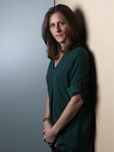 (AP Photo/Marcio Jose Sanchez). Kim Goldman poses for a portrait Friday, June 7, 2019, in Los Angeles. Goldman has continued to make the case publicly that it was O.J. Simpson who killed her brother and Simpson's ex-wife on a June night in 1994. Beginn...
