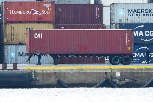 (AP Photo/Matt Rourke). U.S. authorities seized more than $1 billion worth of cocaine from a ship at a Philadelphia port, calling it one of the largest drug busts in American history. The U.S. attorney's office in Philadelphia announced the massive bus...