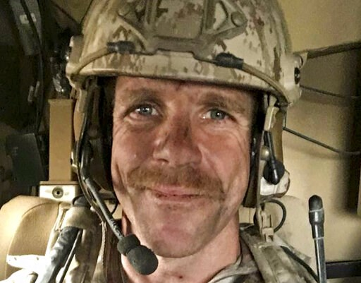 (Edward Gallagher/Courtesy of Andrea Gallagher via AP, File). This undated selfie provided by Andrea Gallagher shows her husband, U.S. Navy SEAL Edward Gallagher, who has been charged with allegedly killing an Islamic State prisoner in his care and att...