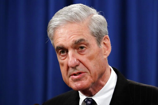 (AP Photo/Carolyn Kaster, File). FILE - In this May 29, 2019, file photo, Special counsel Robert Mueller speaks at the Department of Justice in Washington, about the Russia investigation. House Democrats say preparations for next week's testimony by th...