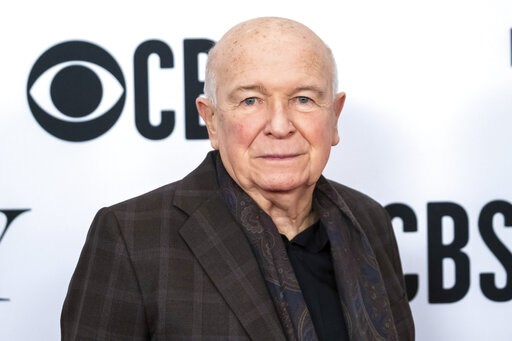 "(Photo by Charles Sykes/Invision/AP, File). FILE - This May 1, 2019 file photo shows playwright Terrence McNally at the 73rd annual Tony Awards ""Meet the Nominees"" press day in New York. McNally, one of America's great playwrights whose prolific career..."